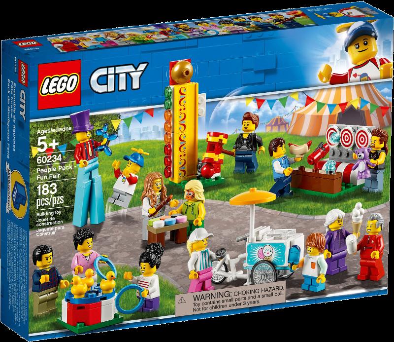 LEGO® City 60234 - Stadtbewohner - Jahrmarkt