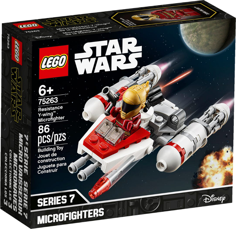 LEGO® Star Wars™ 75263 - Widerstands Y-Wing™ Microfighter