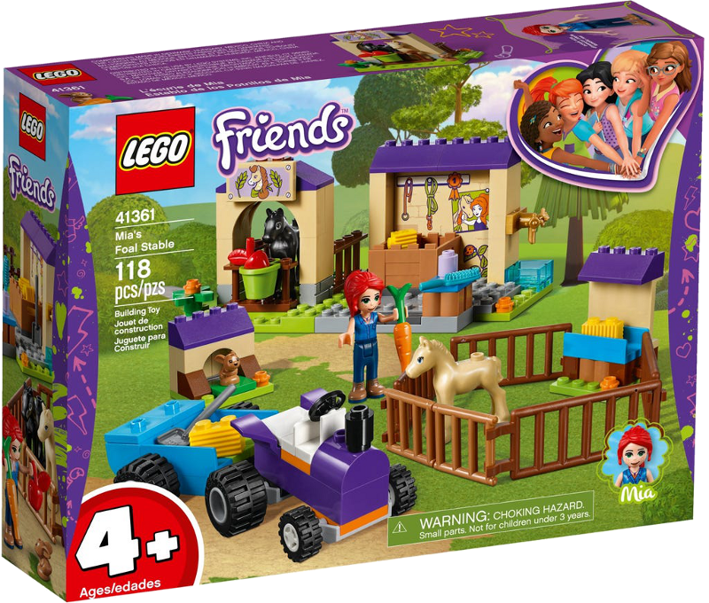 LEGO® Friends 41361 - Mias Fohlenstall