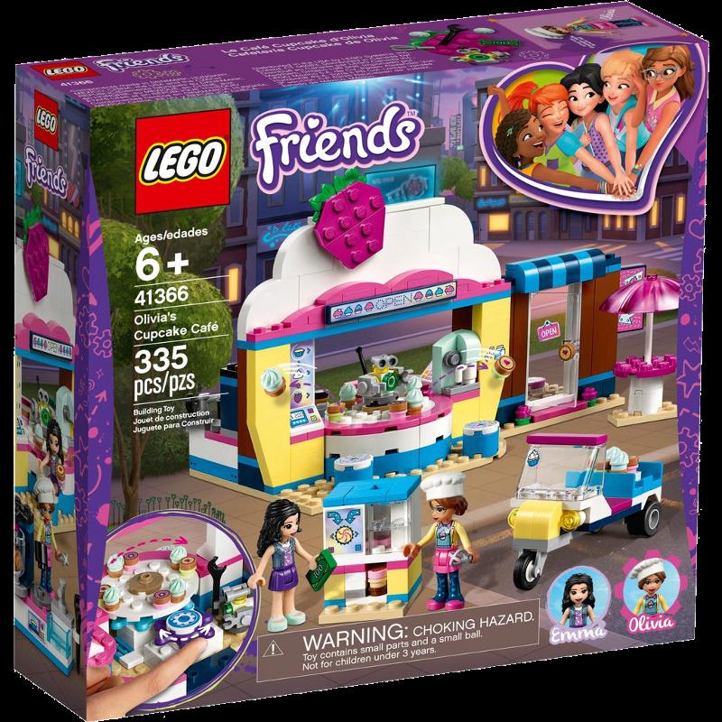 LEGO® Friends 41366 - Olivias Cupcake-Café