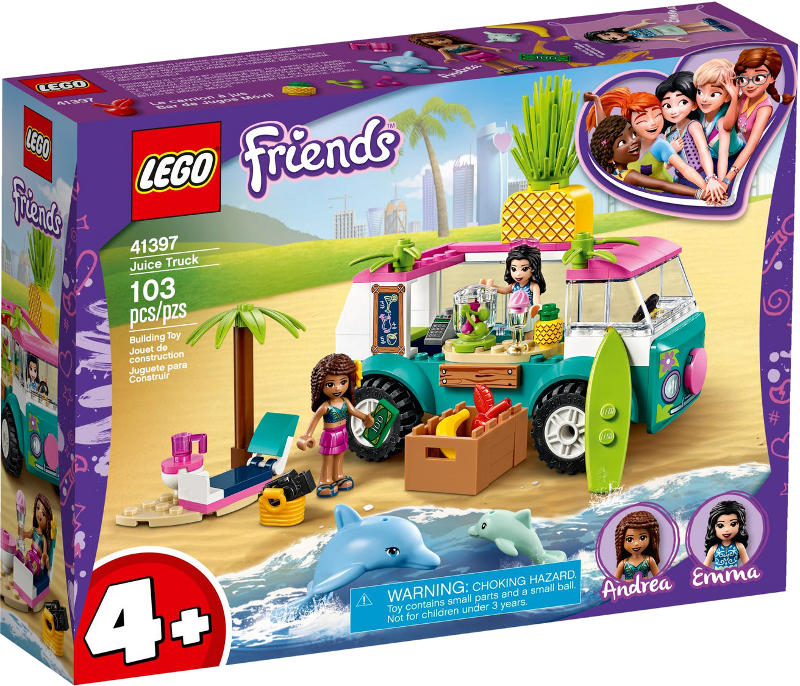 LEGO® Friends 41397 - Mobile Strandbar