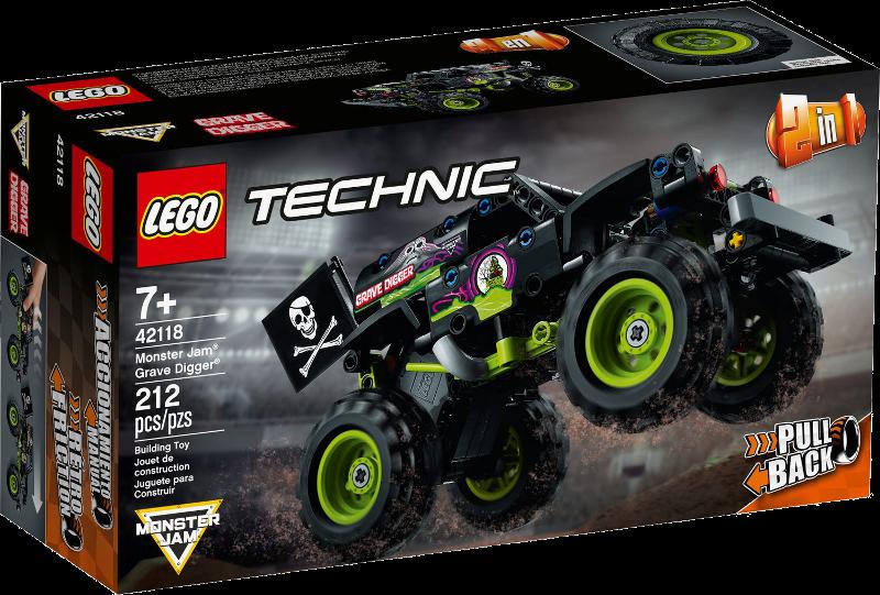 LEGO® Technic 42118 - Monster Jam® Grave Digger®