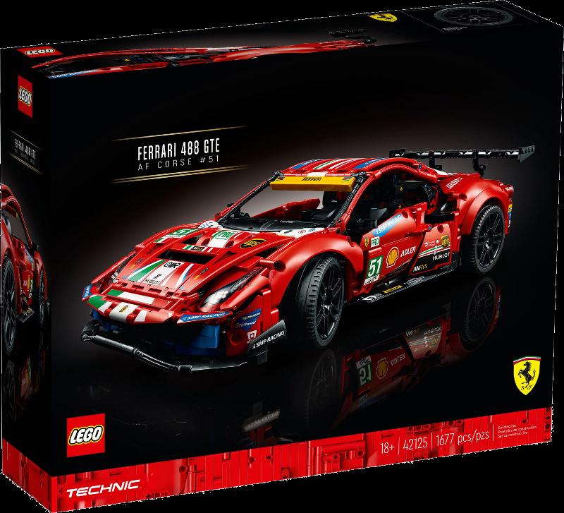 "LEGO® Technic 42125 - Ferrari 488 GTE ""AF Corse #51"""