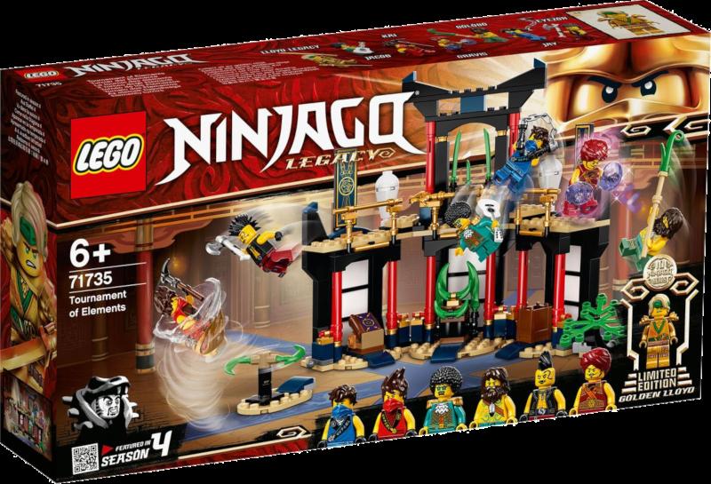 LEGO® NINJAGO® 71735 - Turnier der Elemente