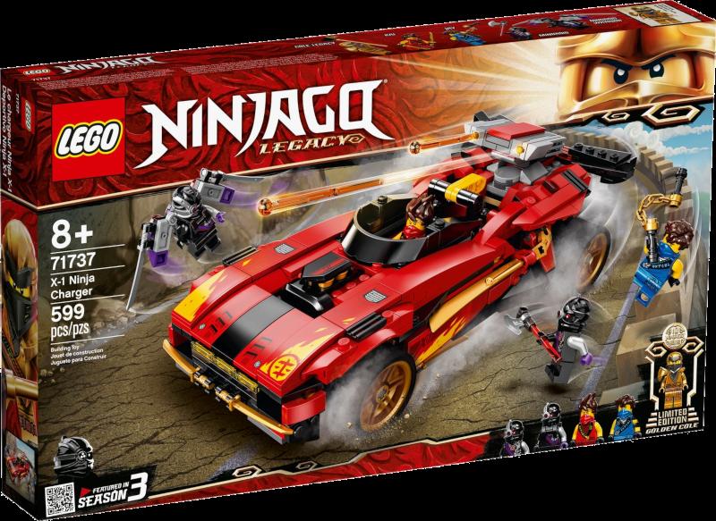 LEGO® NINJAGO® 71737 - X-1 Ninja Supercar