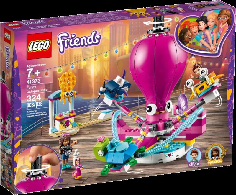 LEGO® Friends 41373 - Lustiges Oktopus-Karussell
