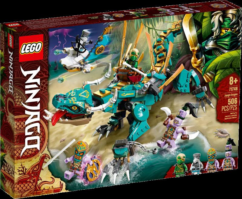 LEGO® NINJAGO® 71746 - Dschungeldrache
