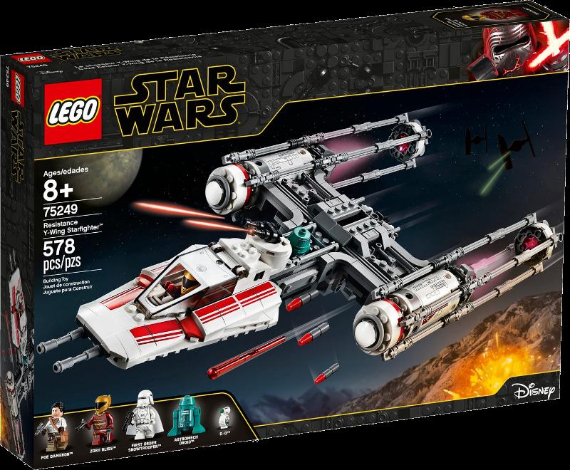 LEGO® Star Wars™ 75249 - Widerstands Y-Wing Starfighter™