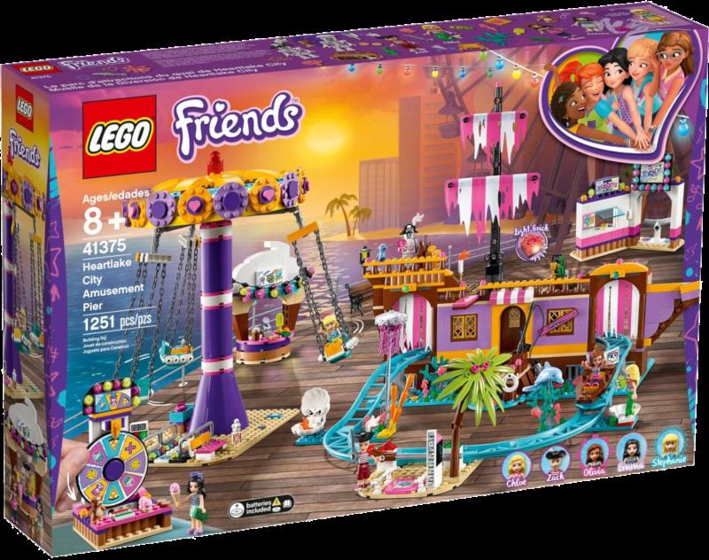 LEGO® Friends 41375 - Vergnügungspark von Heartlake City