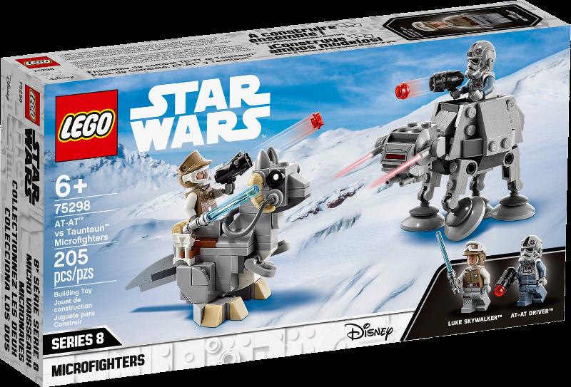 LEGO® Star Wars™ 75298 - AT-AT™ vs. Tauntaun™ Microfighters