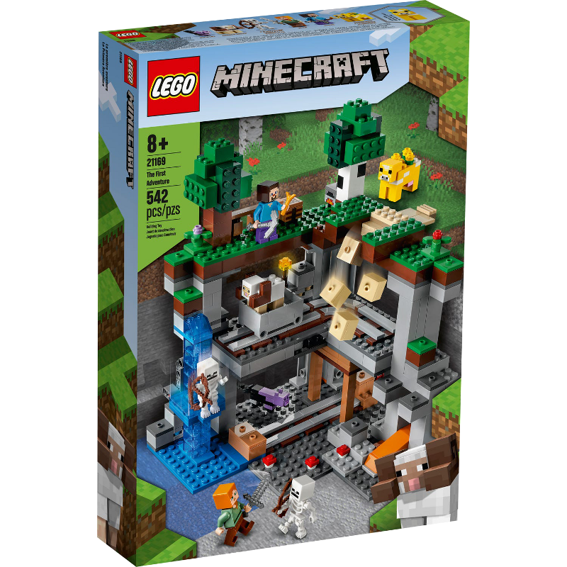 LEGO® Minecraft 21169 - Das erste Abenteuer