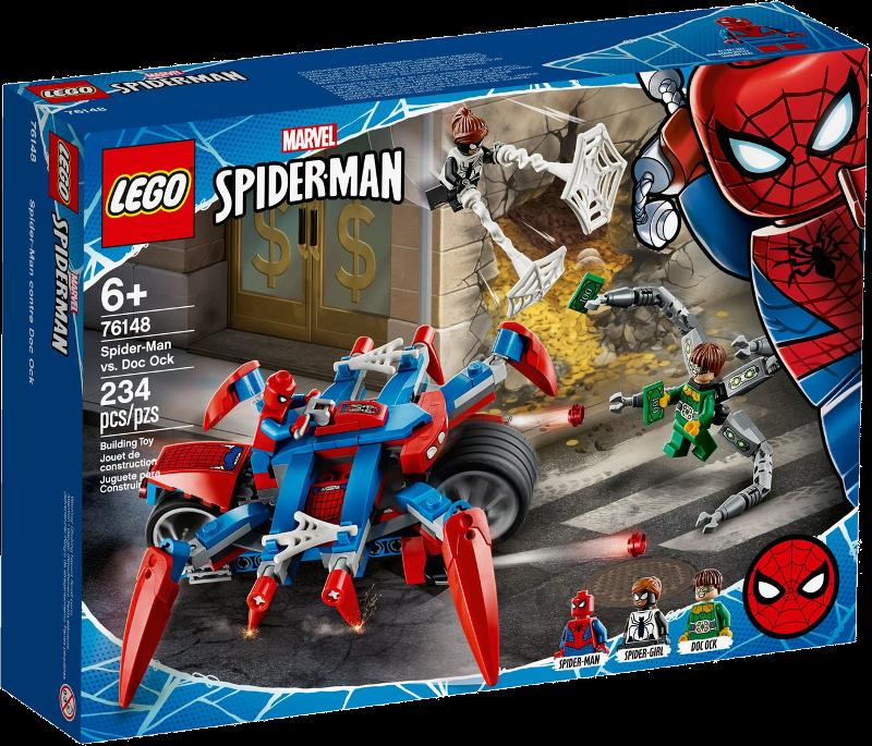 LEGO® Super Heroes 76148 - Spider-Man vs. Doc Ock