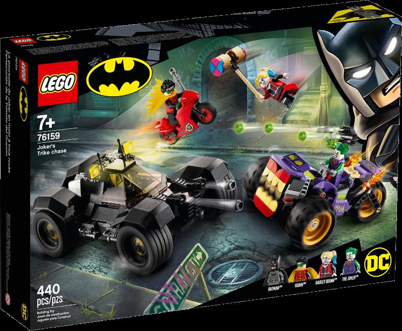 LEGO® Super Heroes 76159 - Jokers™ Trike-Verfolgungsjagd