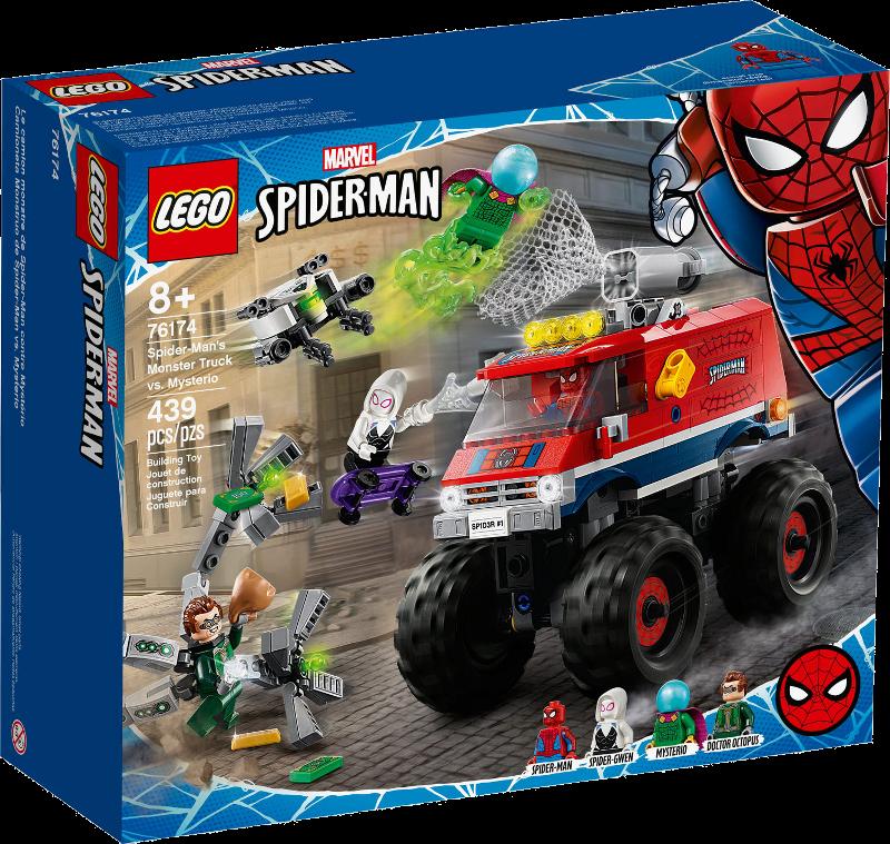 LEGO® Super Heroes 76174 - Spider-Mans Monstertruck vs. Mysterio