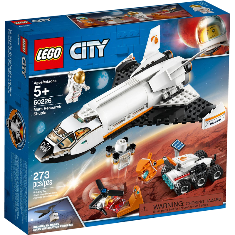 LEGO® City 60226 - Mars-Forschungsshuttle