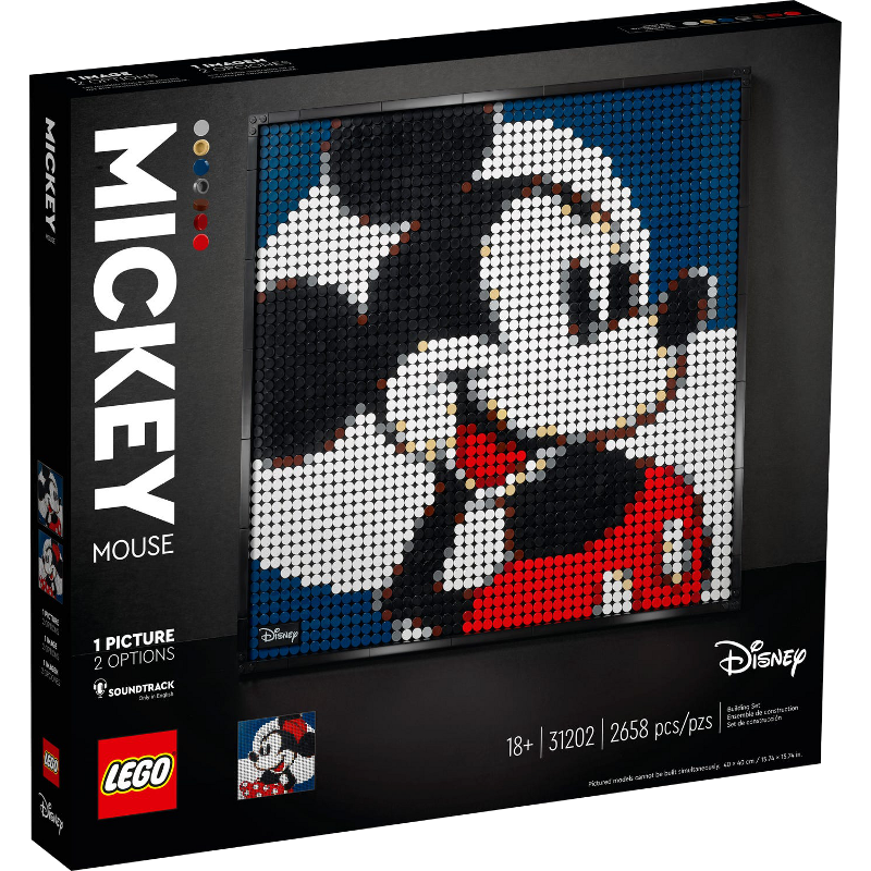 LEGO® Art 31202 - Disney's Mickey Mouse