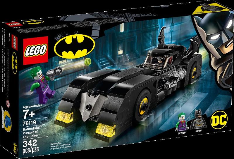 LEGO® Super Heroes 76119 - Batmobile™: Verfolgungsjagd mit dem Joker™
