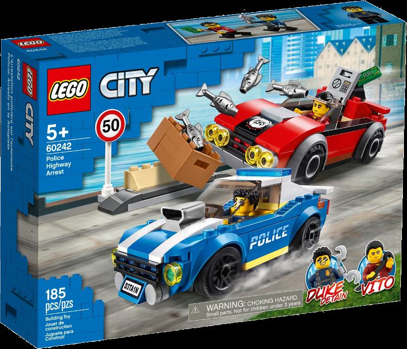 LEGO® City 60242 - Festnahme auf der Autobahn