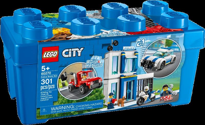 LEGO® City 60270 - Polizei-Steinebox