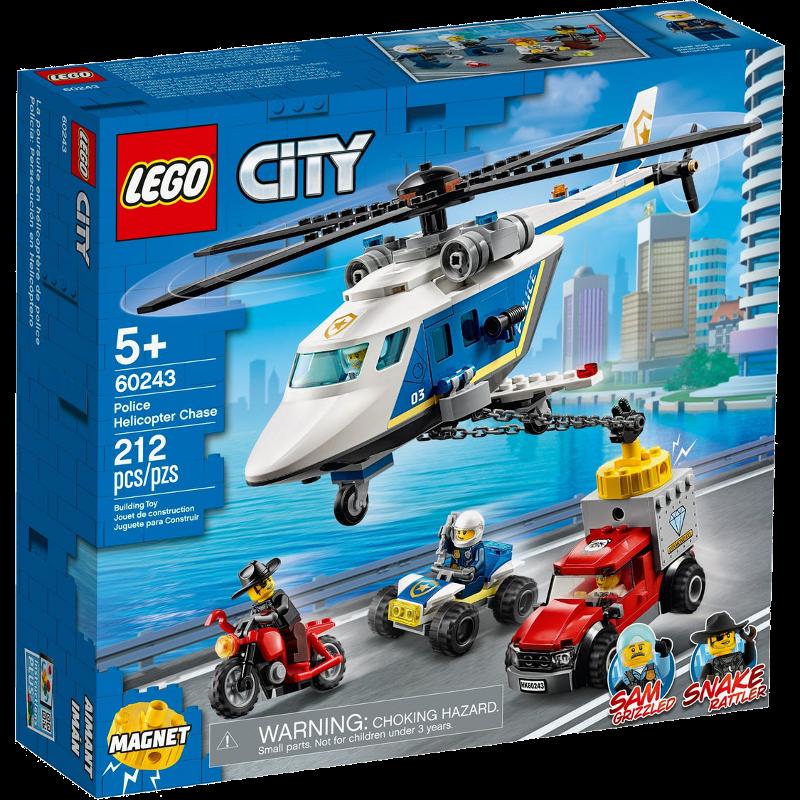 LEGO® City 60243 - Verfolgungsjagd mit dem Polizeihubschrauber
