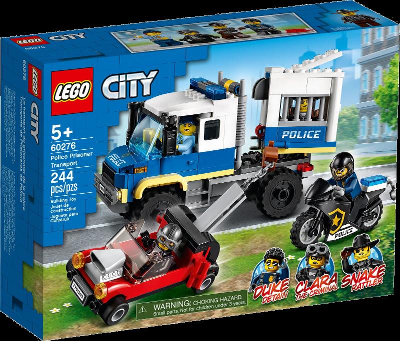 LEGO® City 60276 - Polizei Gefangenentransporter