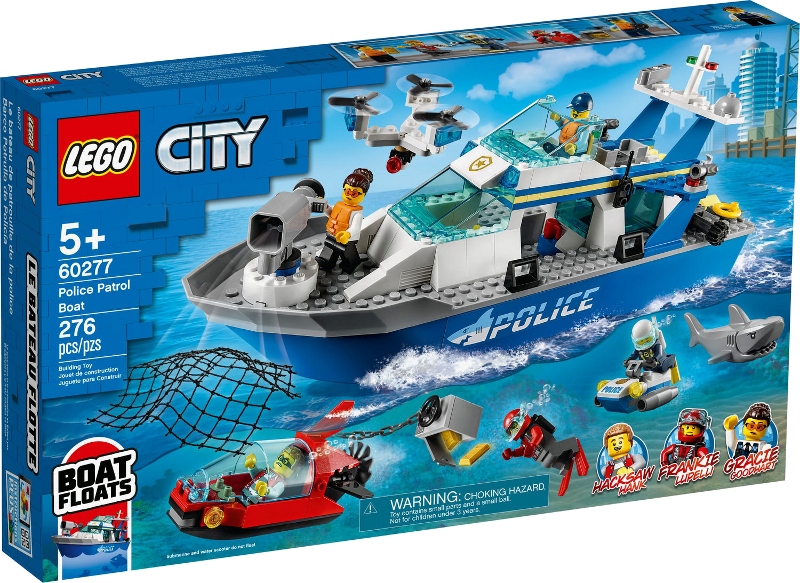 LEGO® City 60277 - Polizeiboot