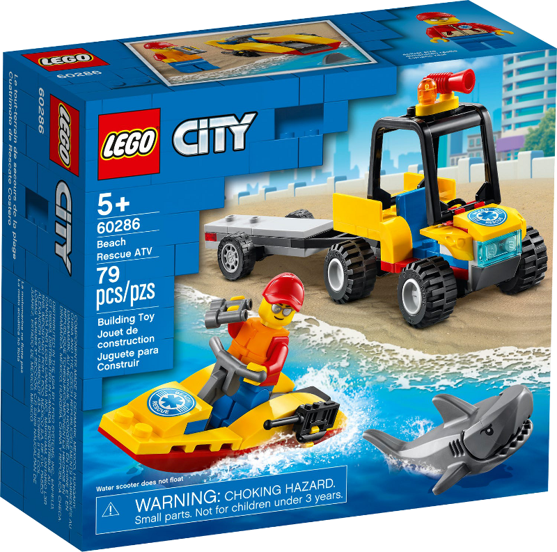 LEGO® City 60286 - Strand-Rettungsquad
