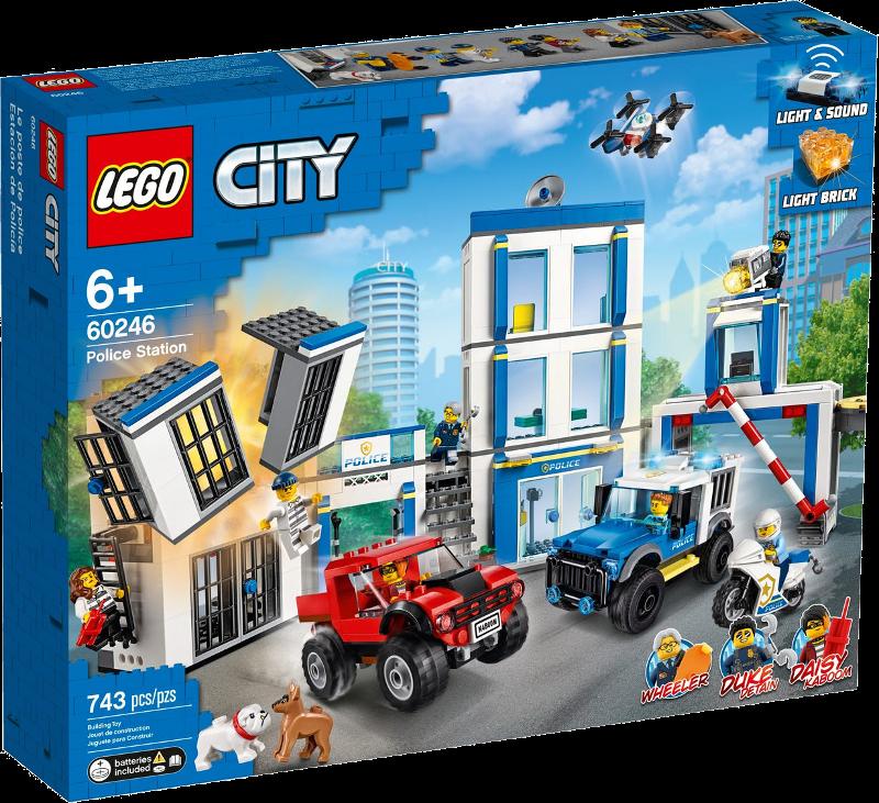LEGO® City 60246 - Polizeistation