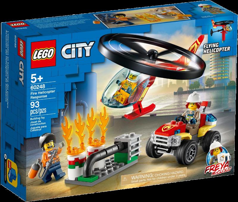 LEGO® City 60248 - Einsatz mit dem Feuerwehrhubschrauber