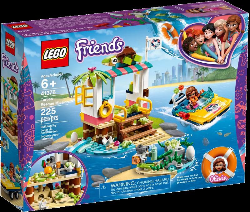LEGO® Friends 41376 - Schildkröten-Rettungsstation