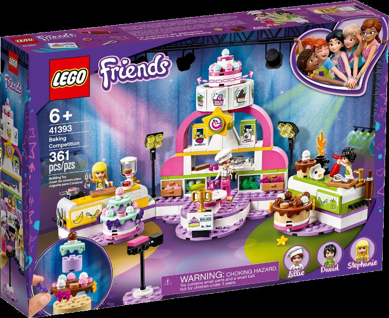 LEGO® Friends 41393 - Die große Backshow