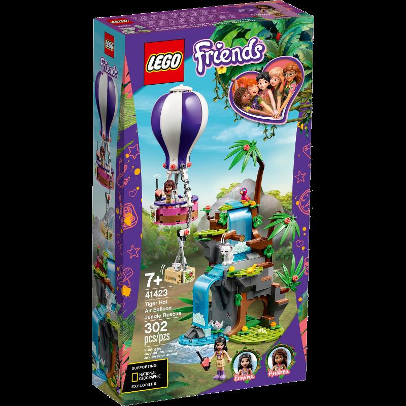 LEGO® Friends 41423 - Tiger-Rettung mit Heißluftballon