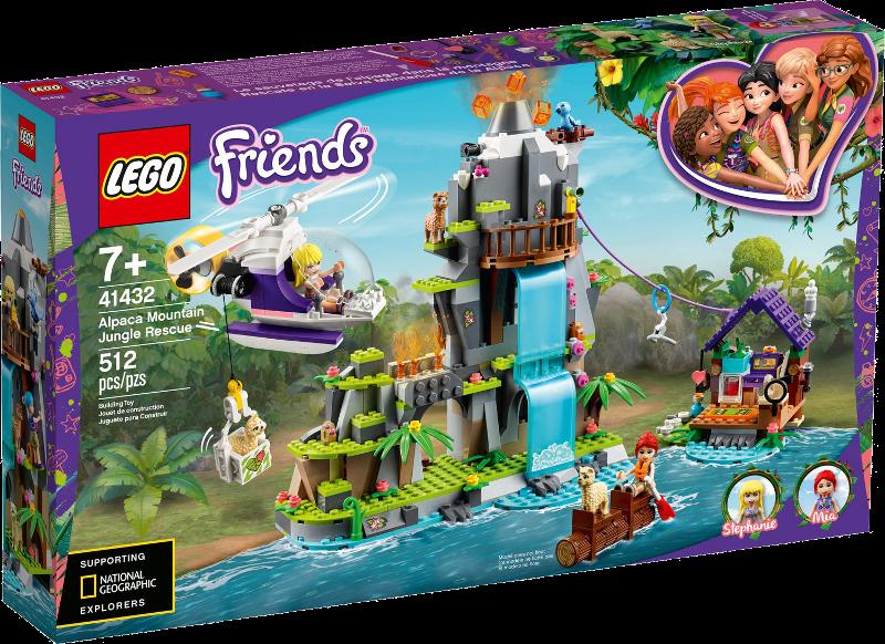 LEGO® Friends 41432 - Alpaka-Rettung im Dschungel