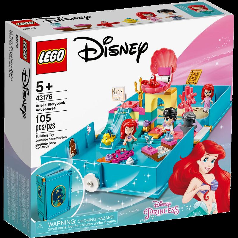 LEGO® Disney Princess 43176 - Arielles Märchenbuch