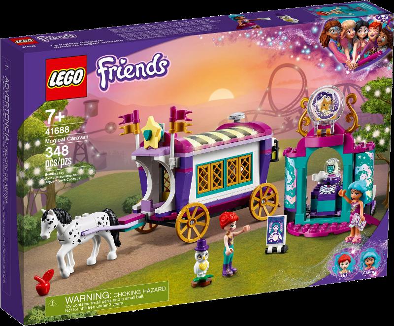 LEGO® Friends 41688 - Magischer Wohnwagen