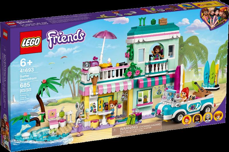 LEGO® Friends 41693 - Surfer-Strandhaus