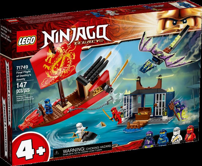 LEGO® NINJAGO® 71749 - Flug mit dem Ninja-Flugsegler