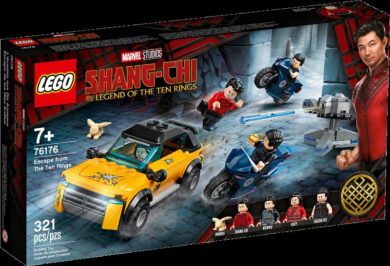 LEGO® Super Heroes 76176 - Flucht vor den zehn Ringen