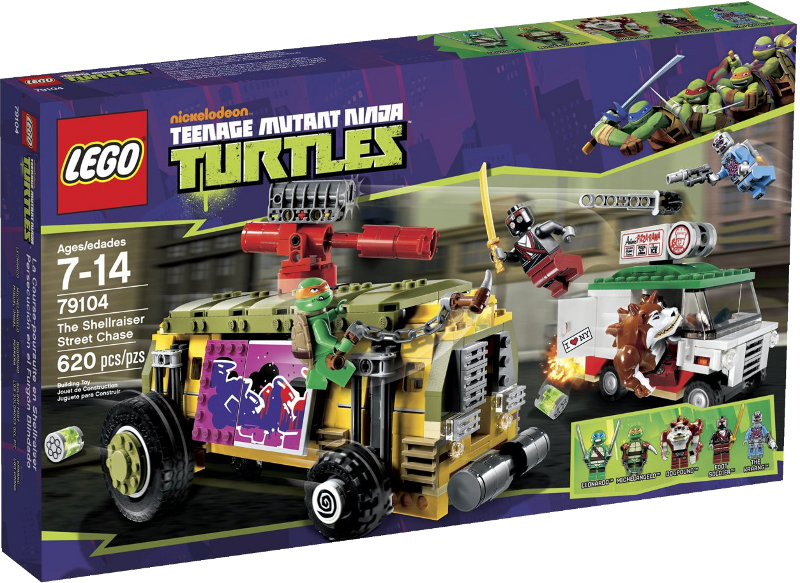 LEGO® Teenage Mutant Ninja Turtles 79104 - Shellraiser
