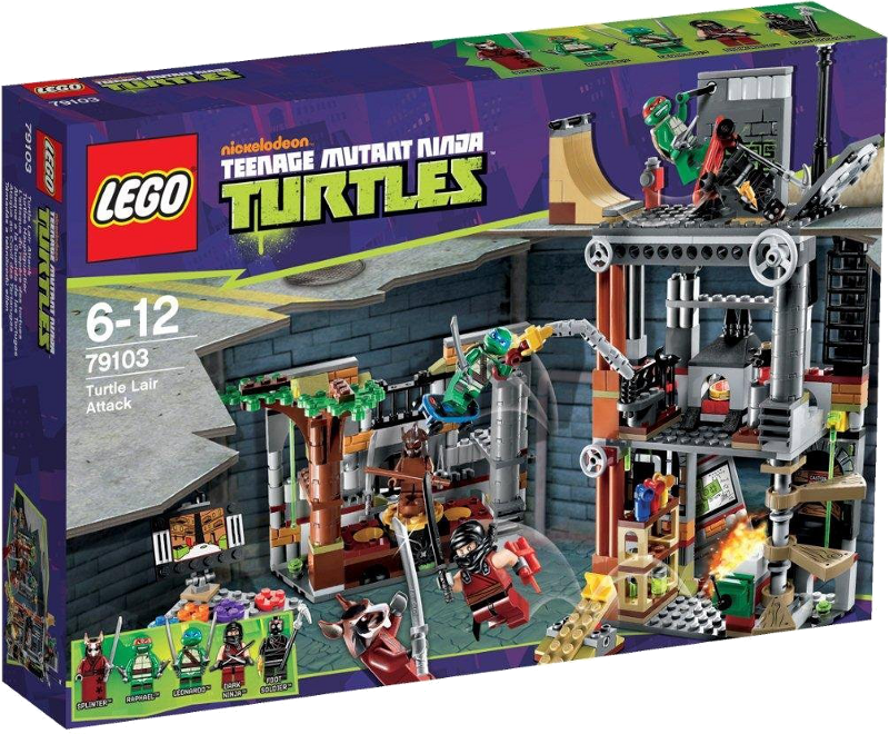 LEGO® Teenage Mutant Ninja Turtles 79103 - Turtles Hauptquartier