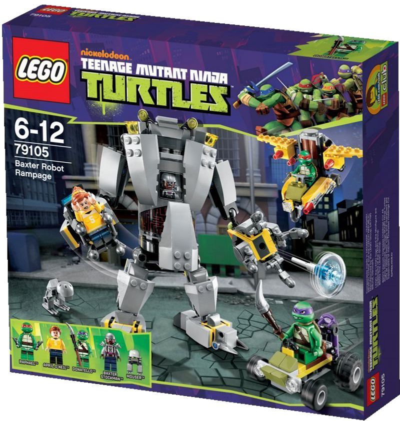 LEGO® Teenage Mutant Ninja Turtles 79105 - Baxters Roboter