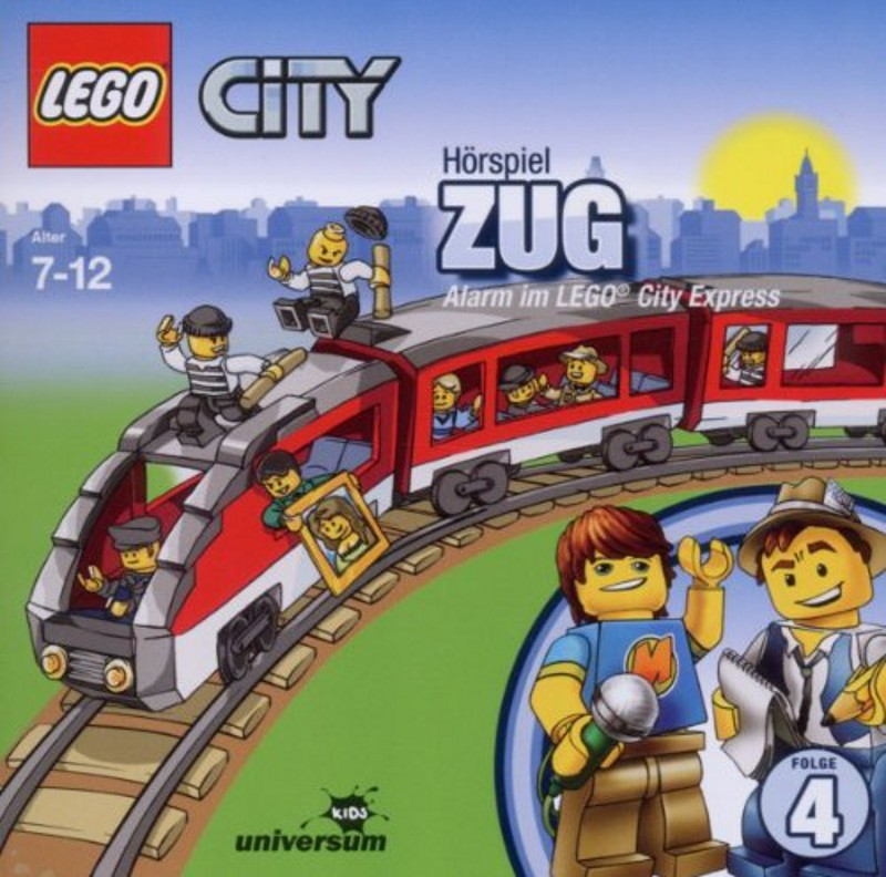 Sony Music - LEGO® City CD 4 - Zug - Alarm im LEGO® City Express