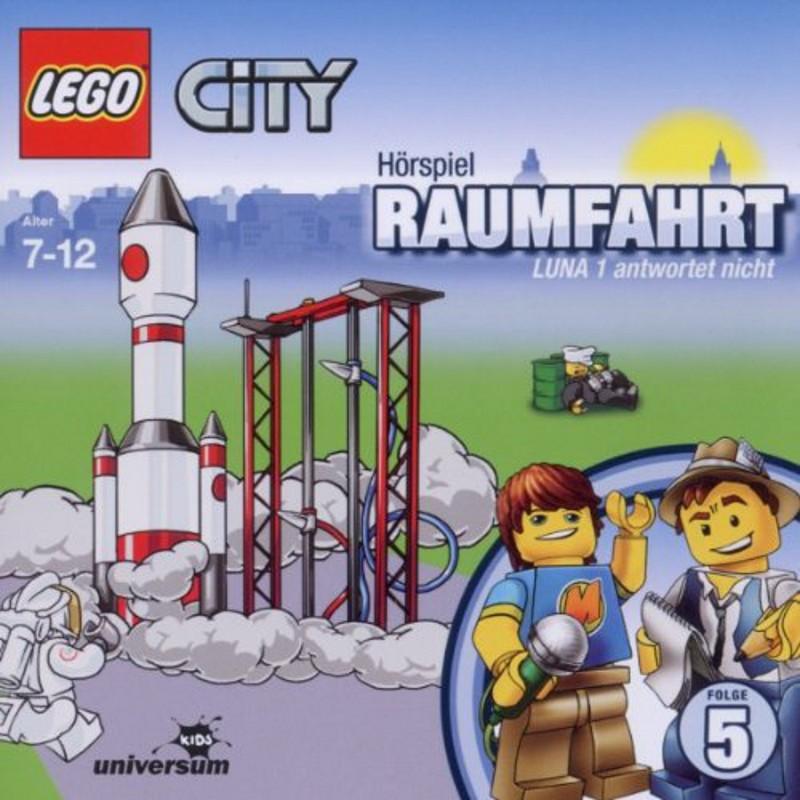 Sony Music - LEGO® City CD 5 - Raumfahrt - Luna 1 antwortet nicht