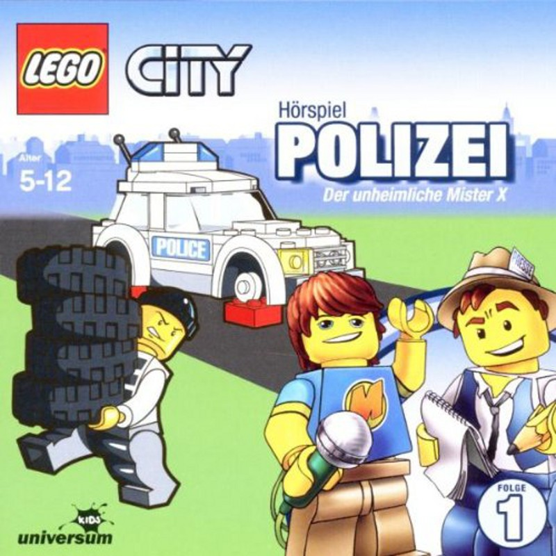 Sony Music - LEGO® City CD 1 - Polizei - Der unheimliche Mister X