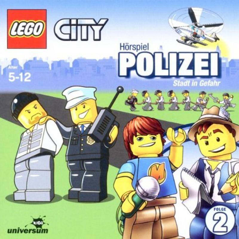 Sony Music - LEGO® City CD 2 - Polizei - Stadt in Gefahr
