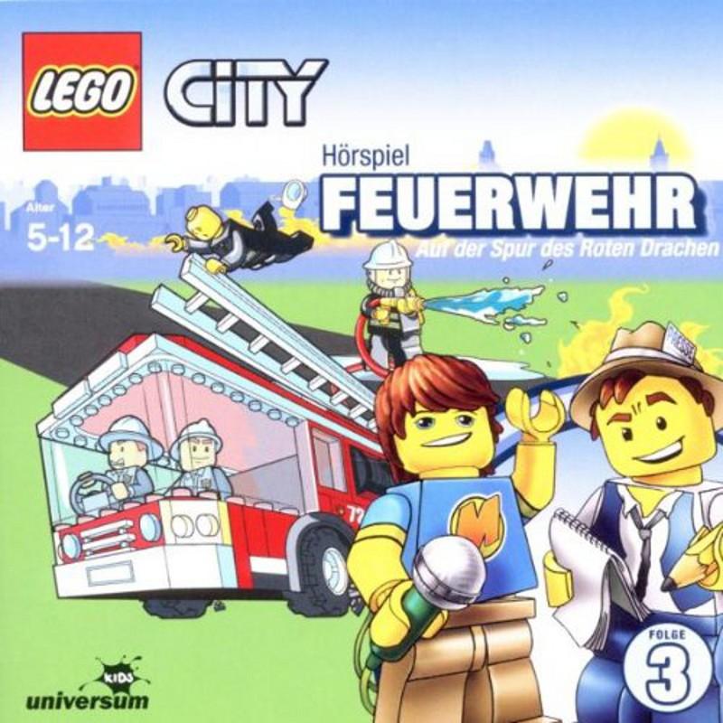 Sony Music - LEGO® City CD 3 - Feuerwehr - Auf der Spur des Roten Drachen