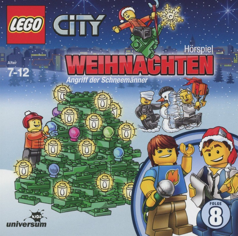 Sony Music - LEGO® City CD 8 - Weihnachten