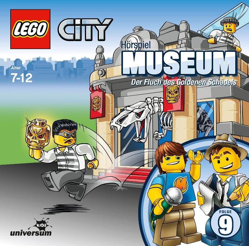 Sony Music - LEGO® City CD 9 - Museum - Der Fluch des goldenen Schädels