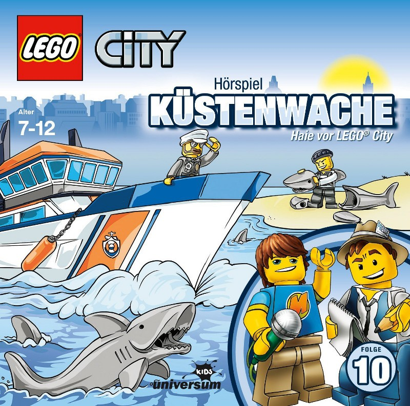 Sony Music - LEGO® City CD 10 - Küstenwache - Haie vor LEGO® City