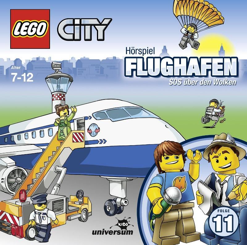Sony Music - LEGO® City CD 11 - Flughafen - SOS über den Wolken
